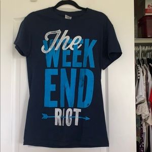 The Weekend Riot Merch